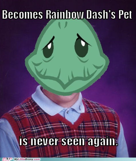 bad luck brian meme rainbow dash tank - 6246600960