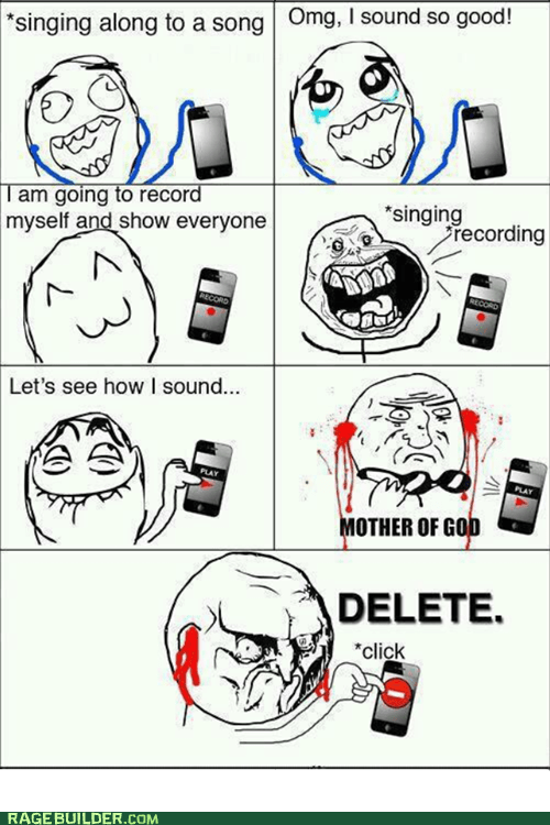 forever alone mother of god no Rage Comics singing - 6246866176