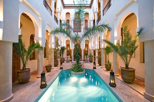architecture hotel morocco pool - 6247558144
