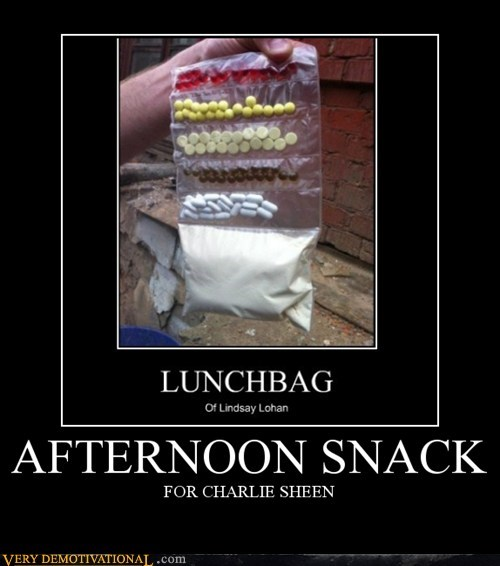 afternoon,Charlie Sheen,Pure Awesome,snack