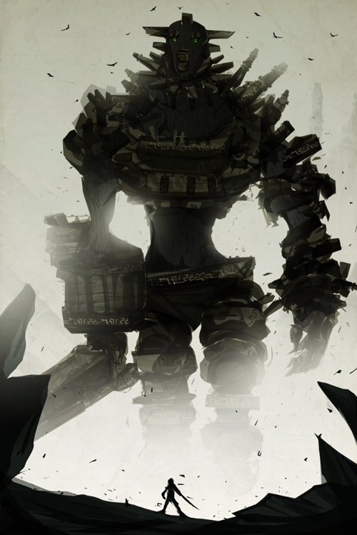 Fan Art shadow of the colossus video games - 6248124672