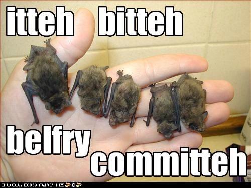 baby bats belfry committee hand - 6248350208