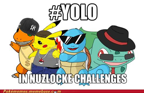 meme Memes motto Nuzlocke Challenge yolo - 6248451584