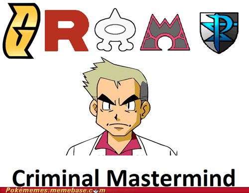 criminal mastermind gramps professor oak the internets - 6248941056