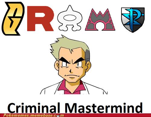 criminal mastermind gramps professor oak the internets - 6248941056