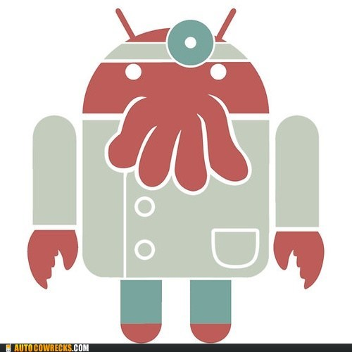 android,futurama,new phone,Zoidberg