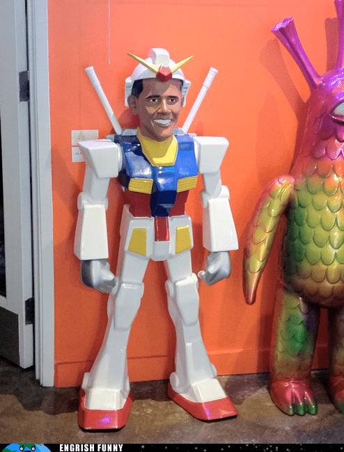 barack obama obamatron potus president robot transformers - 6249654016