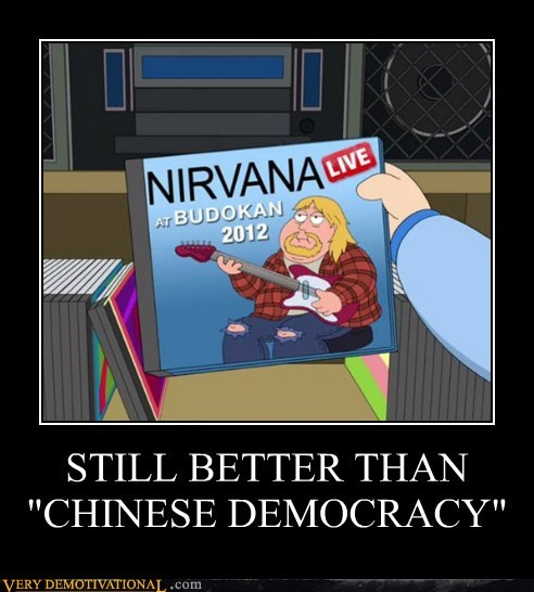 family guy,hilarious,kurt cobain,lived,nirvana