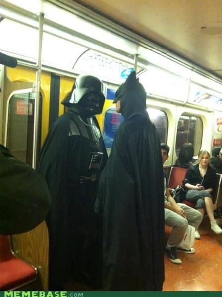 batman darth vader face off Super Costume superheroes - 6249853184