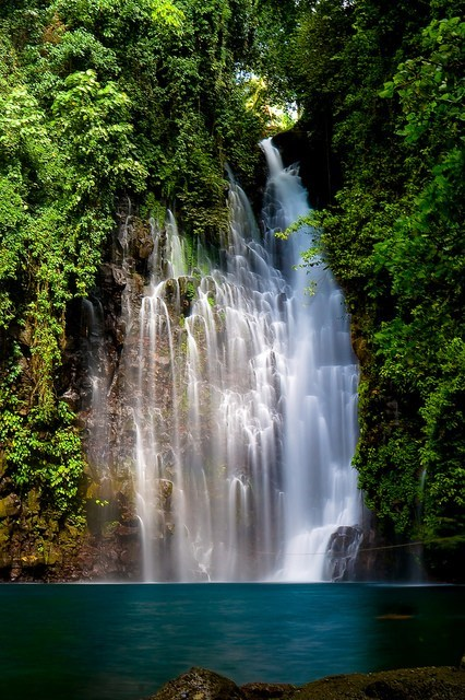 island jungle philippines Tropical waterfall - 6249895168