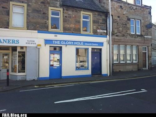 church centre fail nation funny signs the glory hole - 6249933824