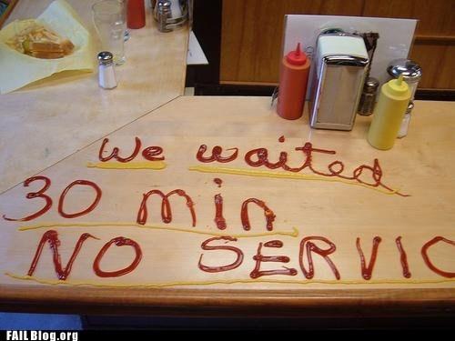 counter diner ketchup mustard no service - 6249947648
