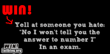 answer to number 7 sweet chaos test humor win - 6249953536