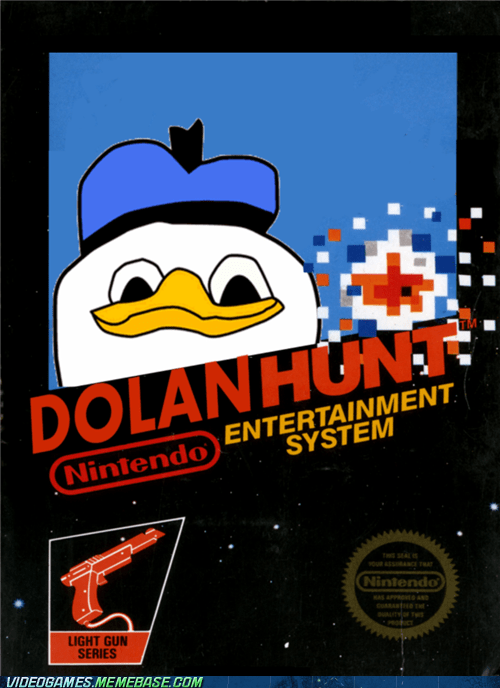 dolan duck duck hunt kill meme nintendo video games - 6250051072