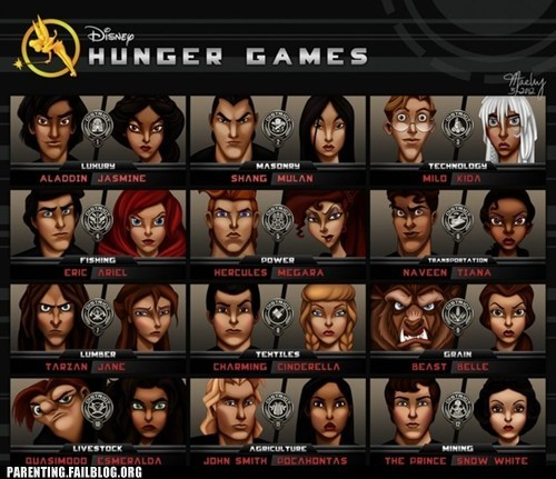 cartoons disney characters hungar games - 6250073856