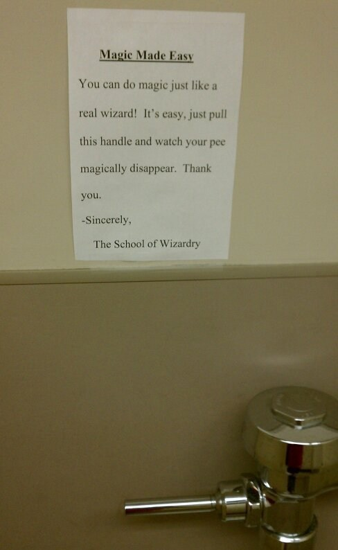 bathrooms,urinals,wizardry,magic