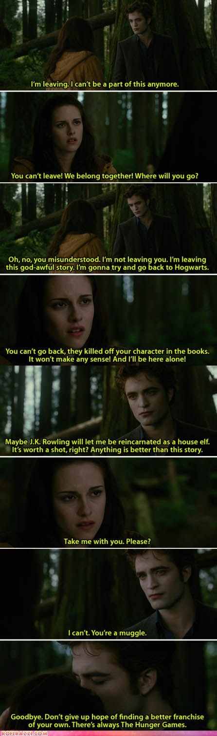 comic funny kristen stewart Movie robert pattinson twilight - 6250161152