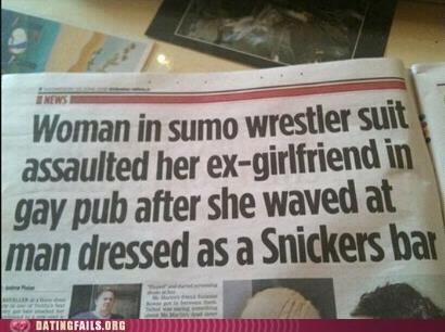 crazy headlines headlines newspapers snickers bar - 6250177536