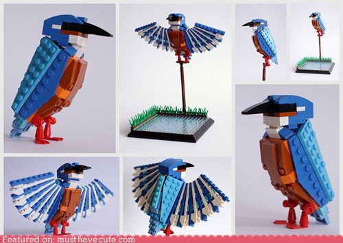 birds British fancy lego sets