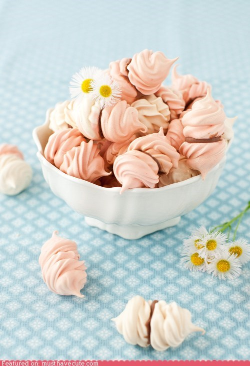 chocolate cookin epicute meringue rosewater sweets - 6250198016