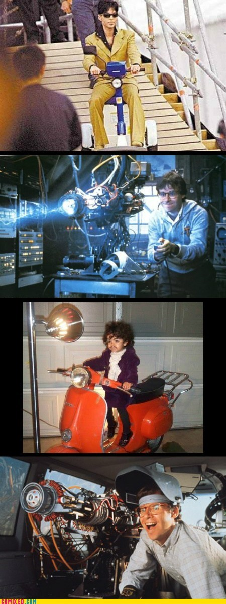 From the Movies,honey i shrunk the kids,I will die for you,prince