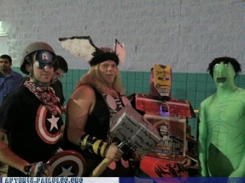 avengers captain america hulk iron man The Avengers Thor - 6250307072