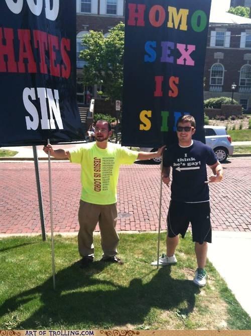 homosecks,IRL,shirt,Westboro Baptist Chruch