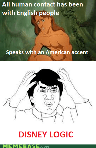 american disney english people Rage Comics tarzan - 6250338816