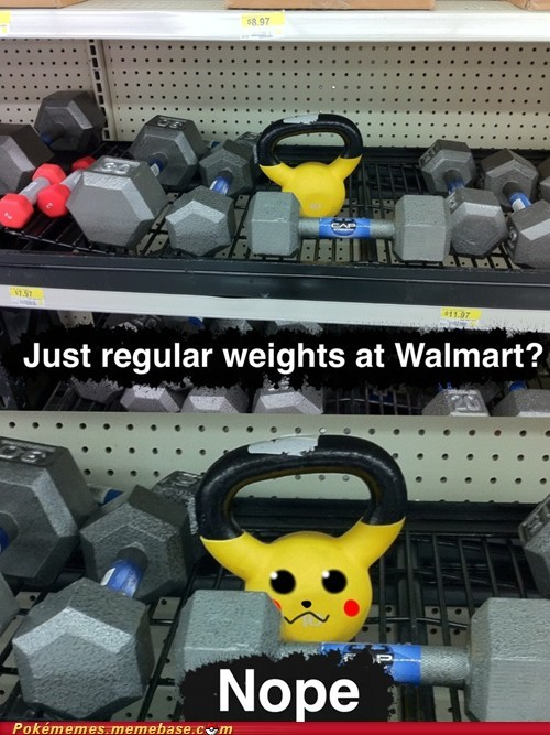 IRL pikachu Walmart weights - 6250340096