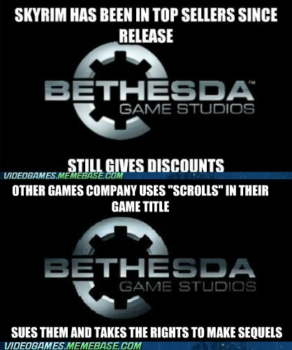 bethesda elder scrolls scrolls sue the feels - 6250366464