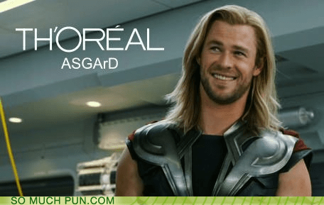 Hall of Fame literalism loreal prefix shampoo similar sounding The Avengers Thor - 6250371328