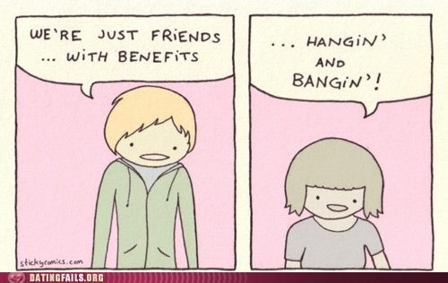 friends with benefits hangin-and-bangin sexytimes