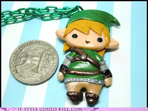 cool accessories,geek,link,necklaces,video games,zelda