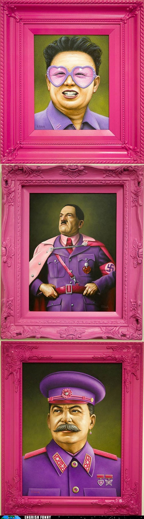 adolf hitler dictators fabulous gay gay pride Hall of Fame hitler joseph stalin Kim Jong-Il scott sheidly stalin