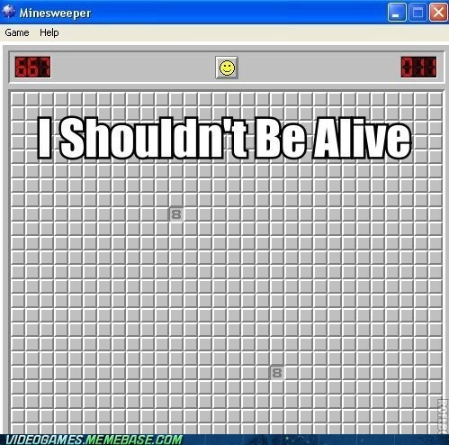 lucky,mines,Minesweeper,PC,your move