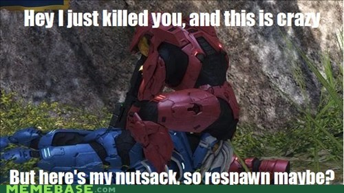 call me maybe halo meme teabagger - 6250437632