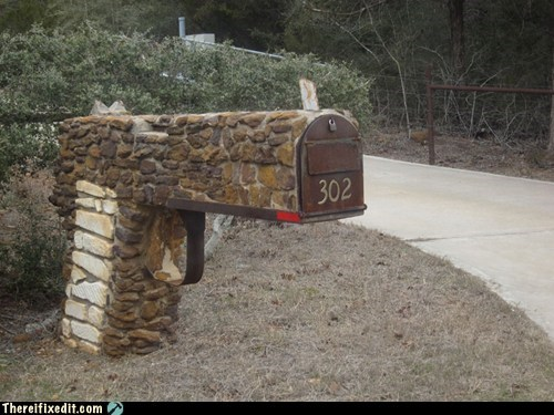 gun gun shaped mailbox mailbox postal service revolver - 6250572800