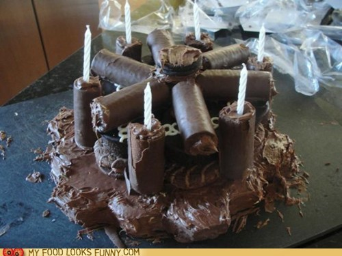 cake candles chocolate ding dongs ho hos hostess swiss rolls - 6250574336