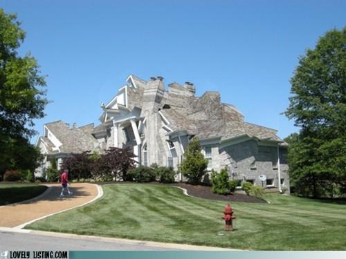 art crazy house jumbled sculpture - 6250642688