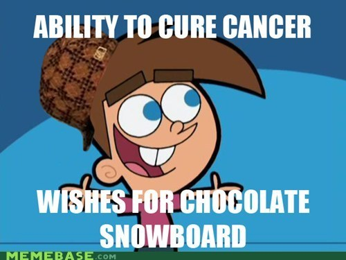 cancer,chocolate,Fairly Oddparents,Scumbag Steve,timmy