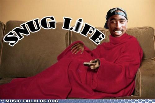pun snuggie thug thug life tupac - 6251056640