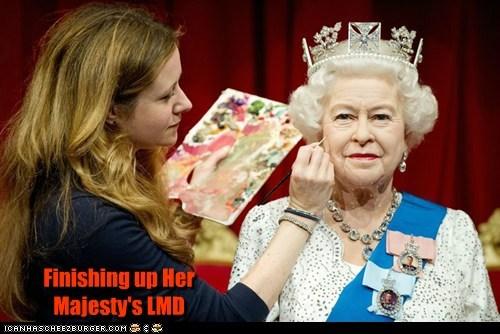 Finishing up Her Majesty's LMD