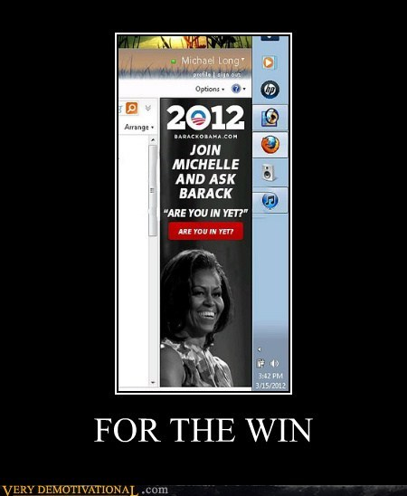 are you in yet hilarious Michelle Obama obama wtf - 6251471360