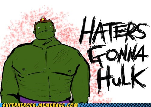 angry Awesome Art hate haters hulk - 6251732736