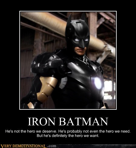 awesome batman ironman mashup Super-Lols - 6251821568