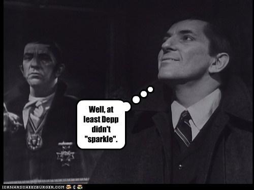 at least barnabas collins dark shadows Johnny Depp jonathan frid Sparkle vampire