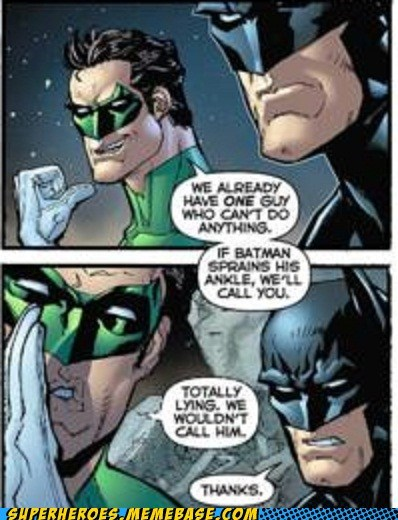 batman buddy Green lantern jerk Straight off the Straight off the Page - 6252276224