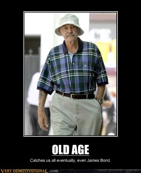 hilarious james bond old age sean connery