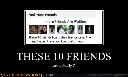 7 facebook friends hilarious