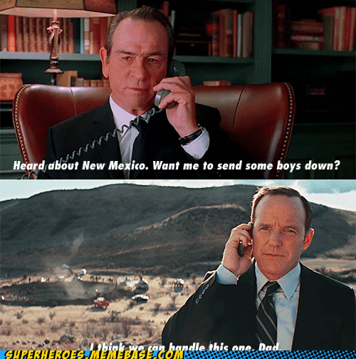 agent coulson avengers Father son Super-Lols - 6253085952
